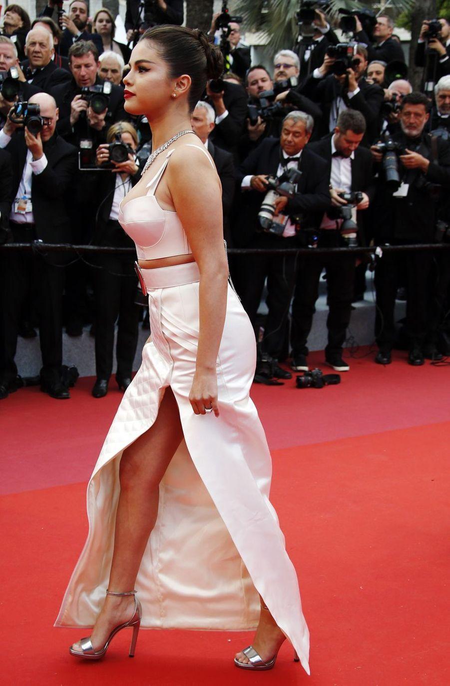 Selena Gomez lors de la montée des marches du film «The Dead Don't Die» lors du 72e Festival de Cannes le 14 mai 2019