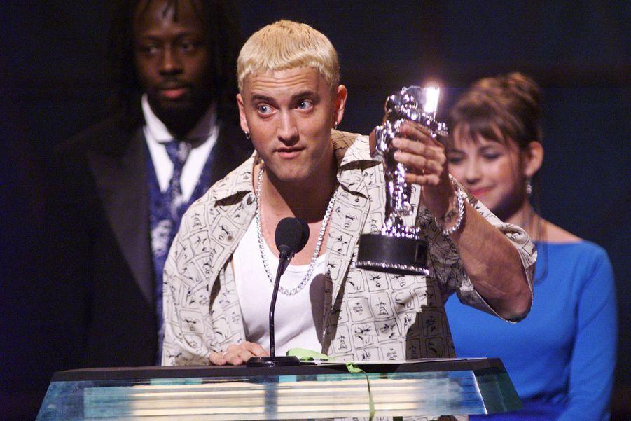 Eminem avait remporté le prix du meilleur clip pour un nouvel artiste pour son titre «My Name Is»