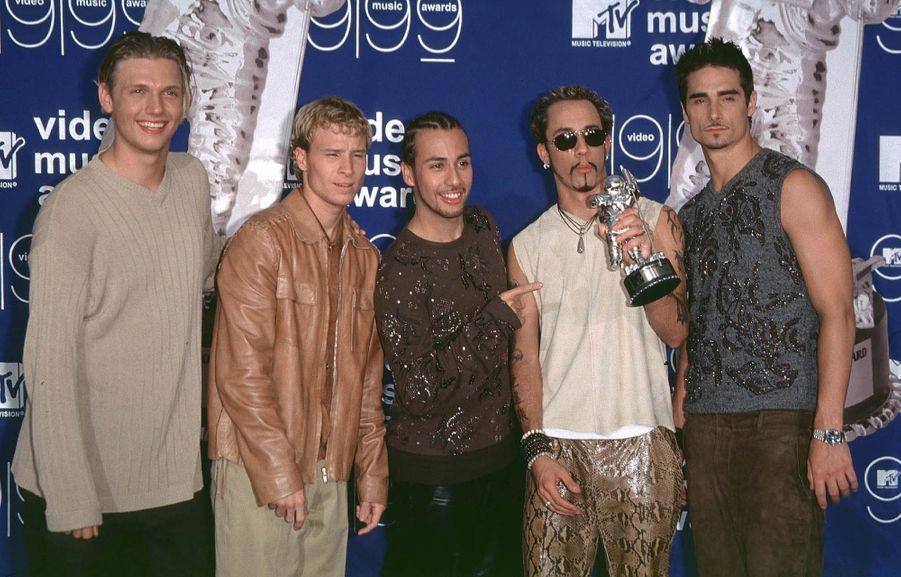Les Backstreet Boys avaient reçu le prix du public pour leur clip «I Want It That Way»