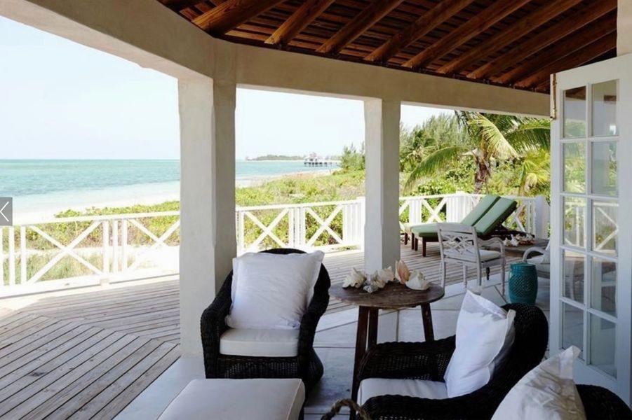 Serena Williams et Alexis Ohanian ont loué une villa sur une île des Bahamas.