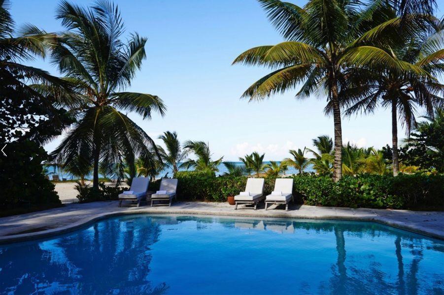 Serena Williams et Alexis Ohanian ont loué une superbe villa aux Bahamas.
