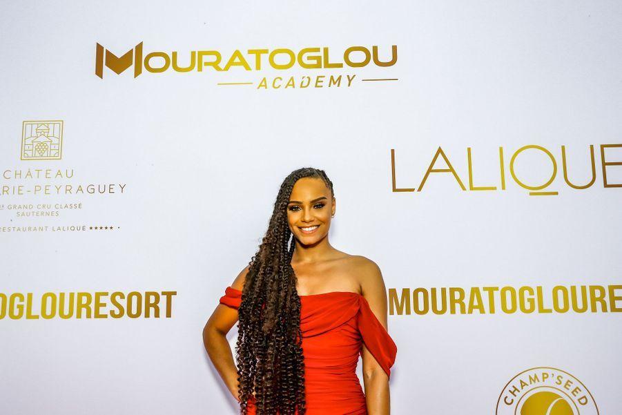 Alicia Ayliesaugala annuel duMouratoglou Resort à Biot le 23 juin 2019