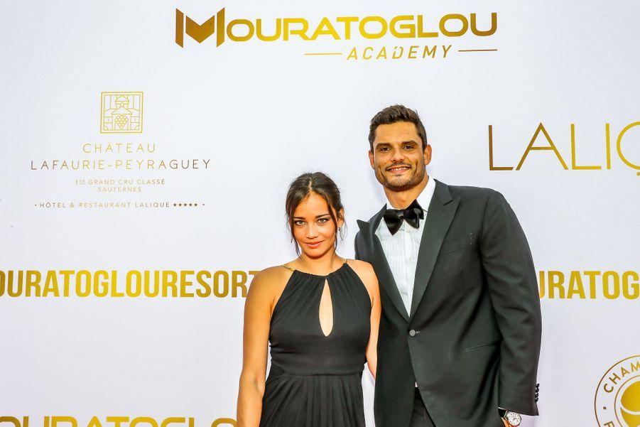 Alizé Lim et Florent Manaudouaugala annuel duMouratoglou Resort à Biot le 23 juin 2019