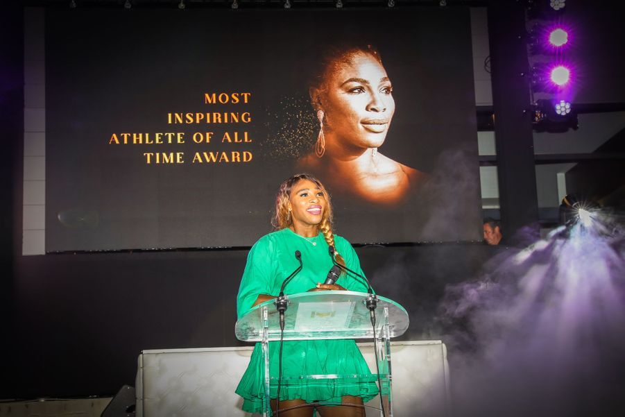 Serena Williamsaugala annuel duMouratoglou Resort à Biot le 23 juin 2019