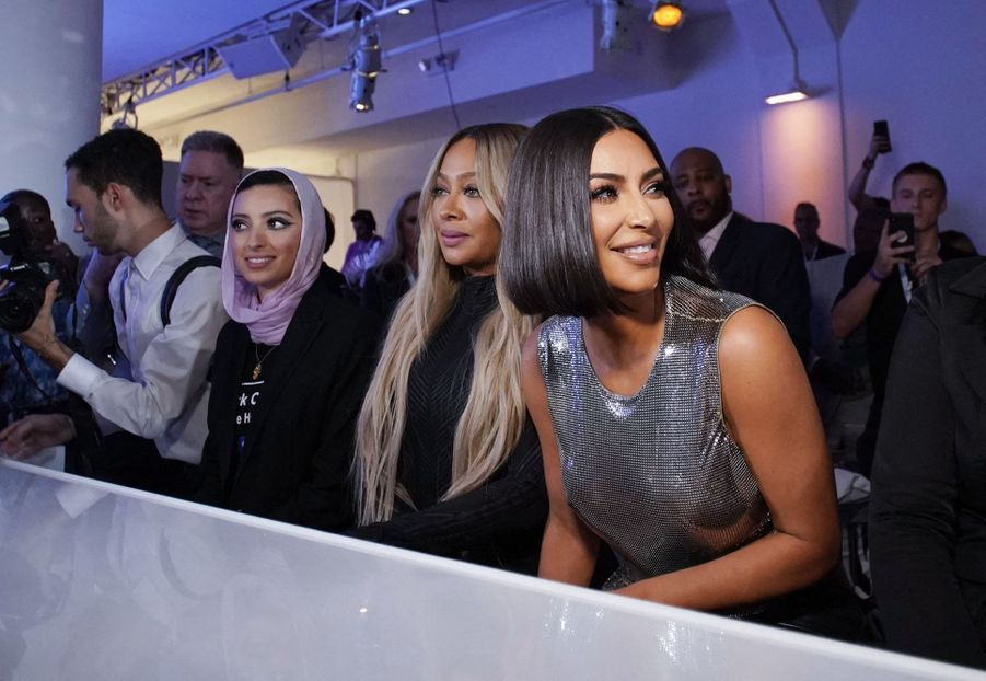 "La La Anthony et Kim Kardashian assistent au défilé de la nouvelle collection de ""Serena"""