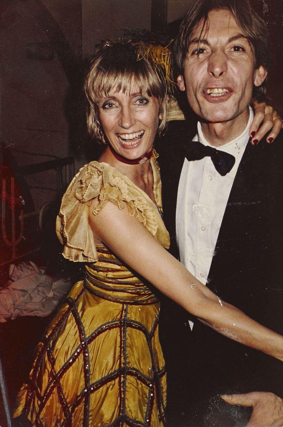 Charlie Watts, le batteur du groupe, et sa femme, Shirley Ann Shepherd.