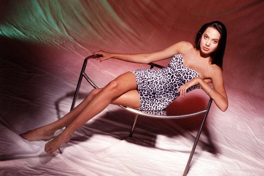 Angelina Jolie à 16 ans.
