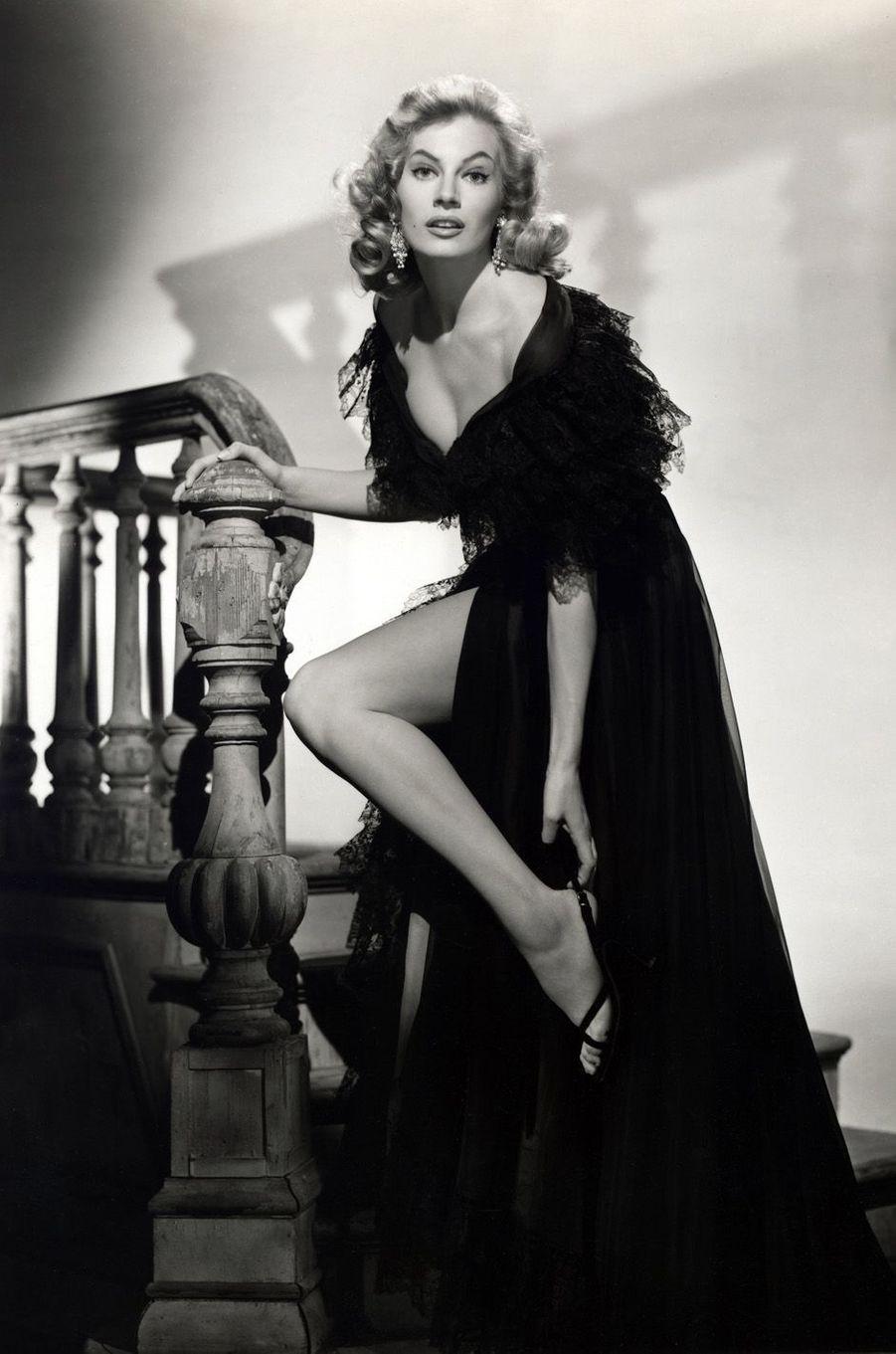 Anita Ekberg en 1953.
