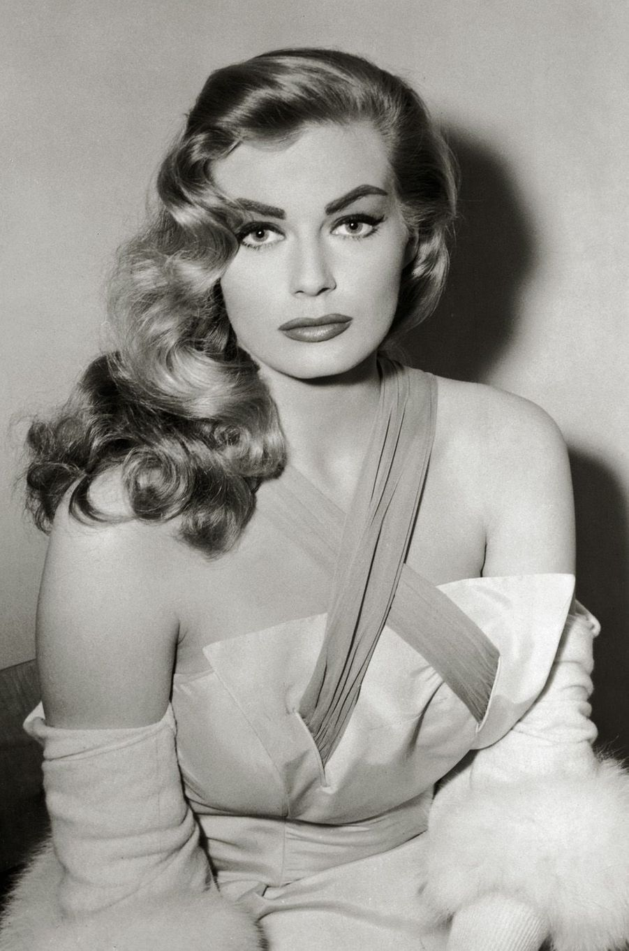 Anita Ekberg en 1956.