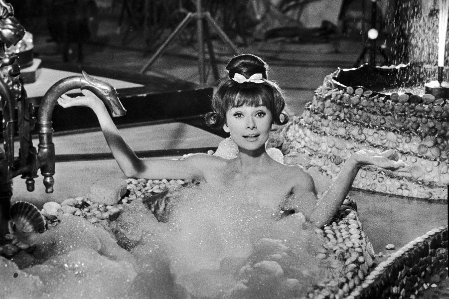 Audrey Hepburn en 1963