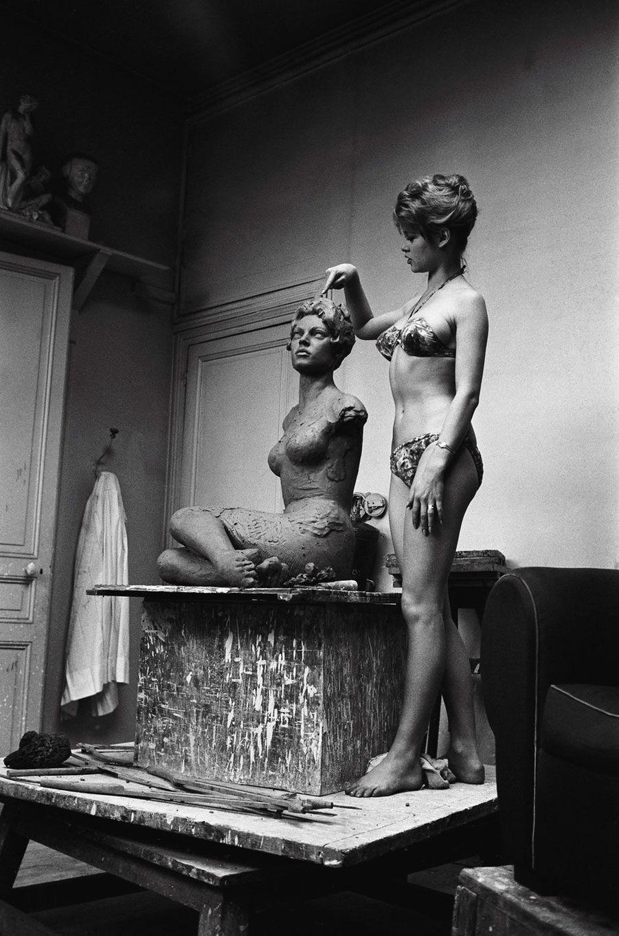 Brigitte Bardot est une actrice française