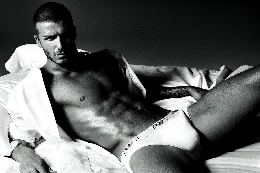 David Beckham pour Emporio Armani
