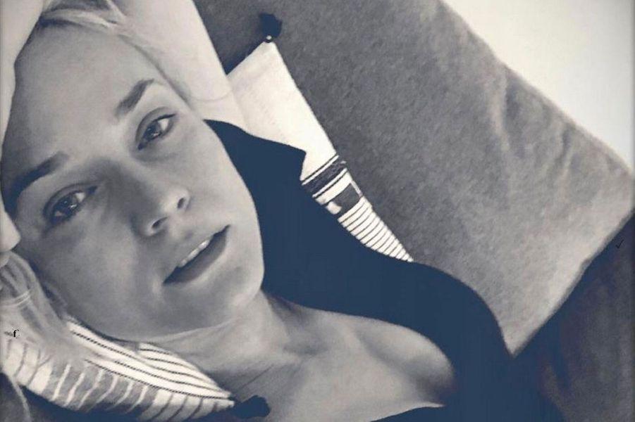 Diane Kruger, belle au naturel.