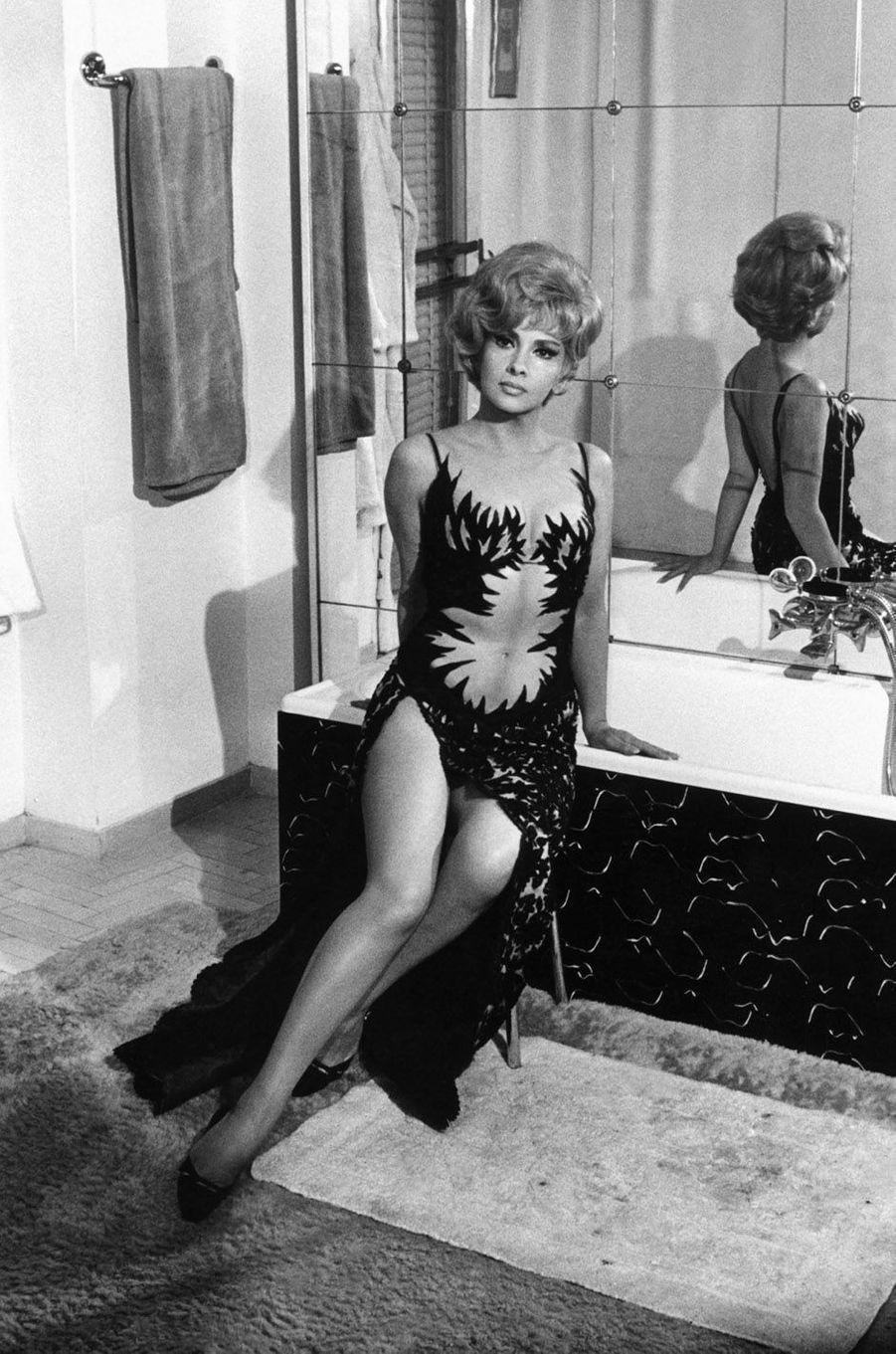 Gina Lollobrigida en 1965.