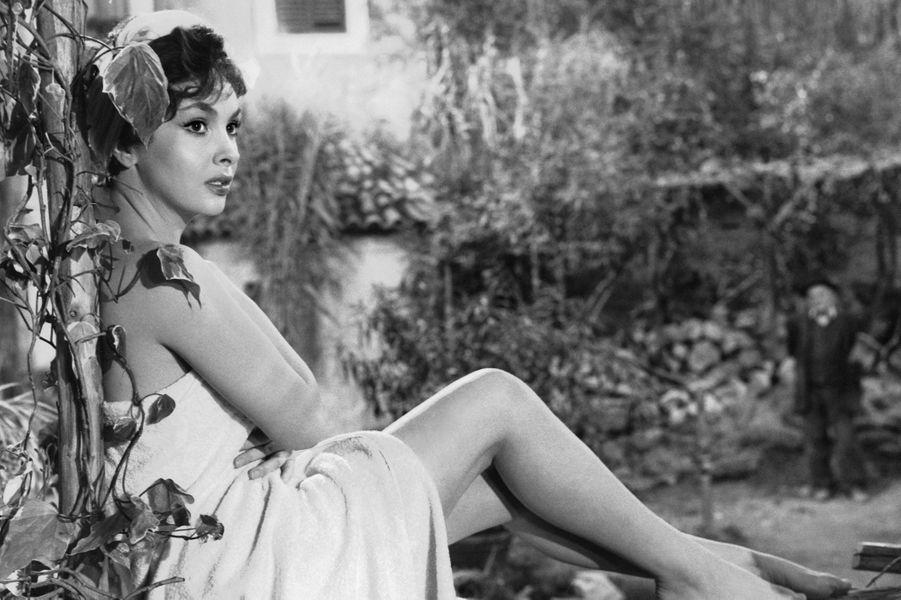 Gina Lollobrigida dans les années 50.