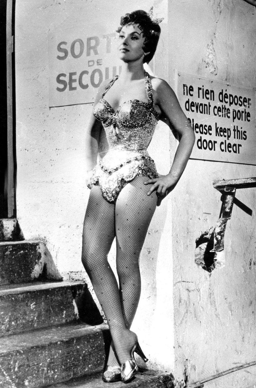 Gina Lollobrigida en 1956.