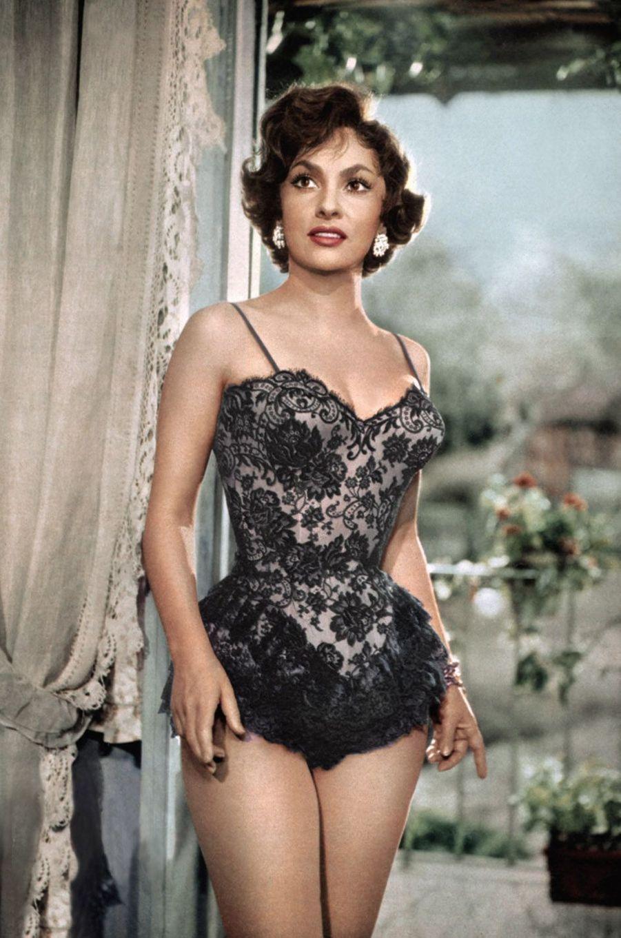 Gina Lollobrigida en 1957.