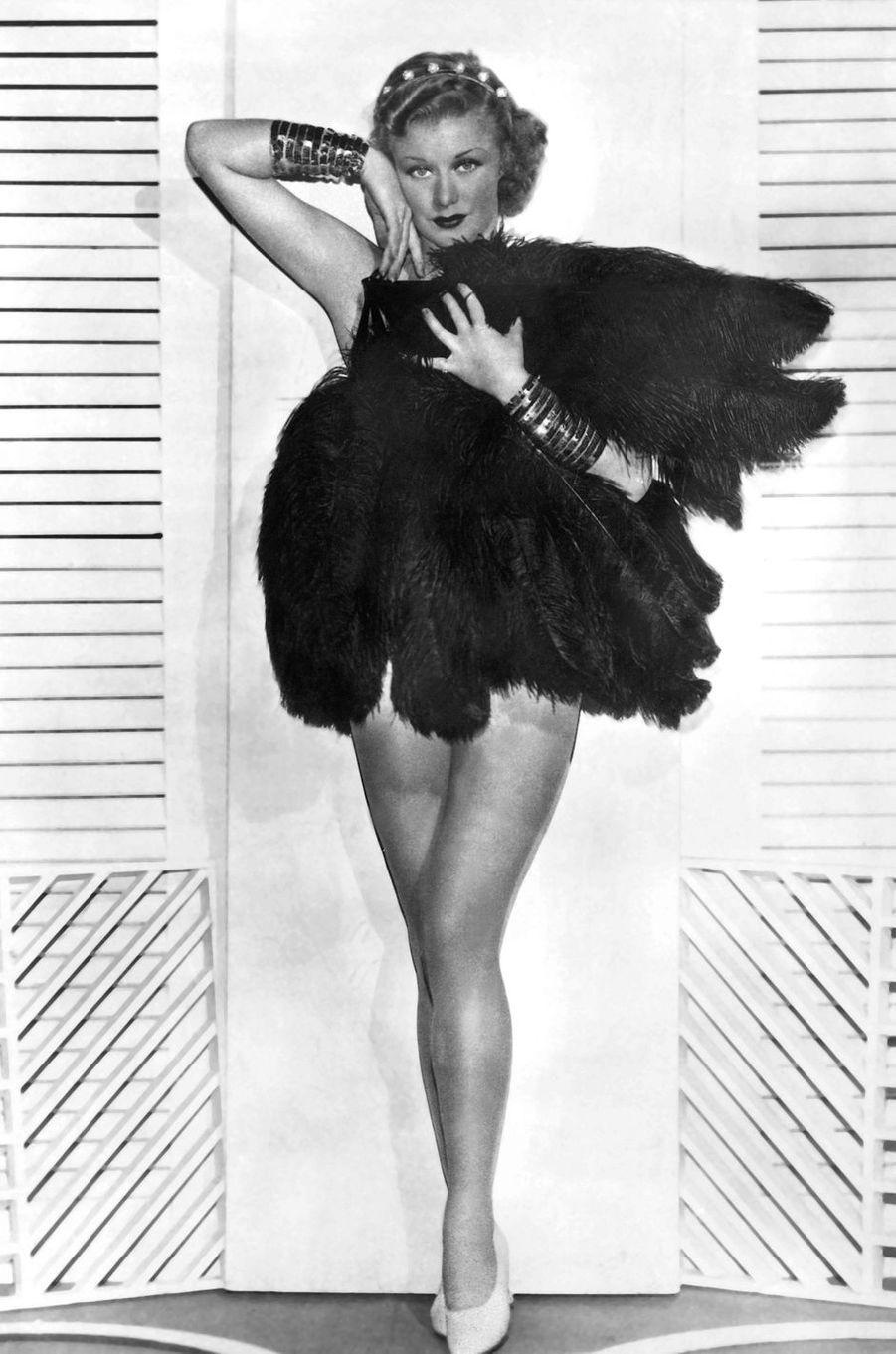 Ginger Rogers en 1933.