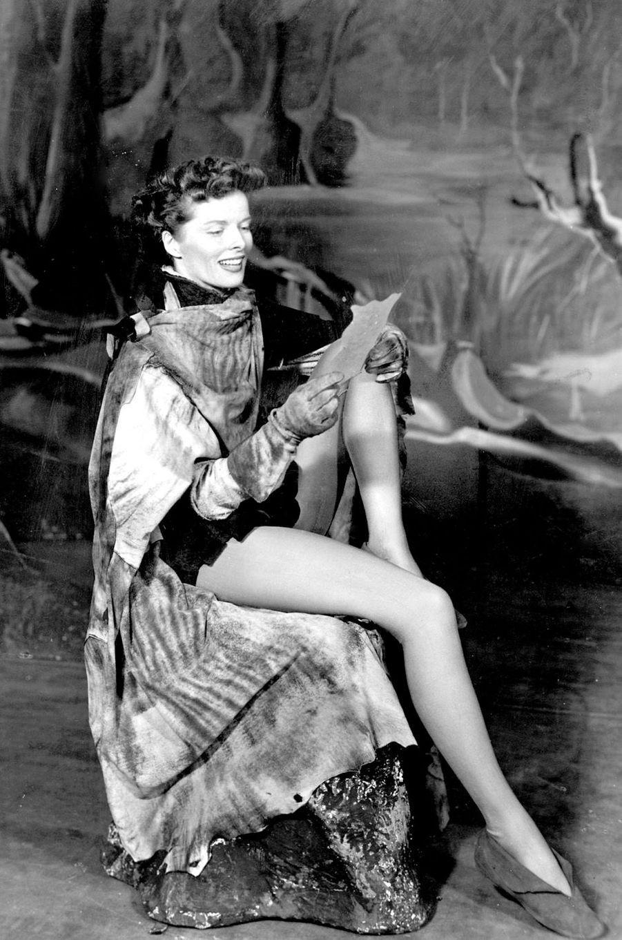 Katharine Hepburn en 1950.