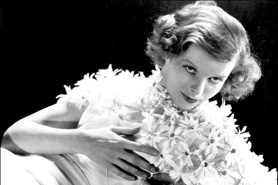 Katharine Hepburn en 1955.