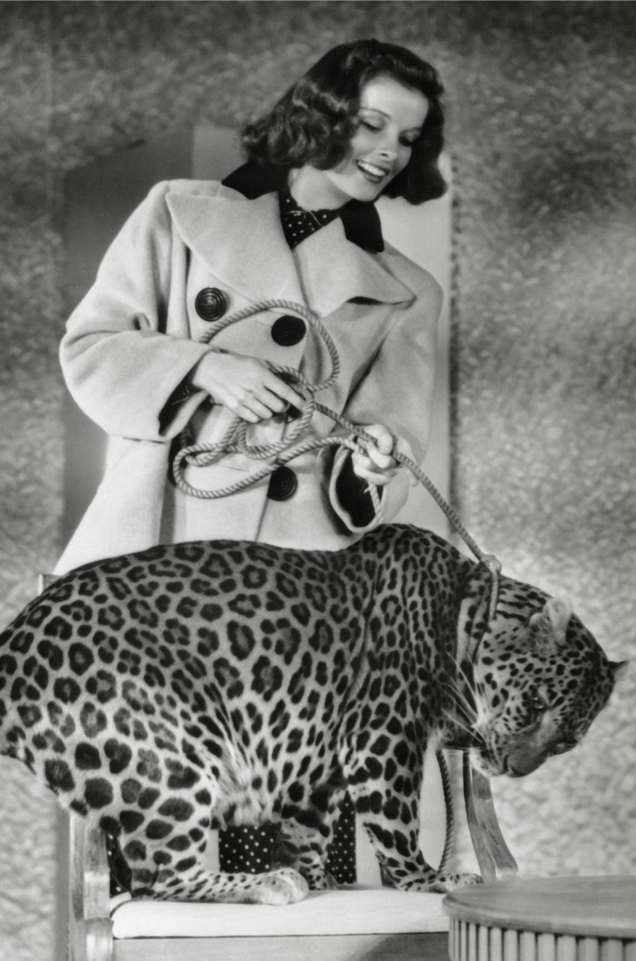 Katharine Hepburn en 1938.