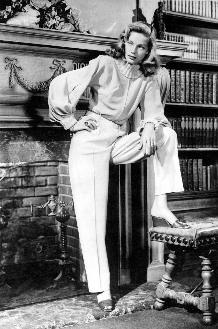 Lauren Bacall en 1949.