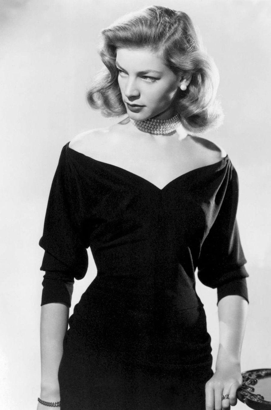 Lauren Bacall en 1958.