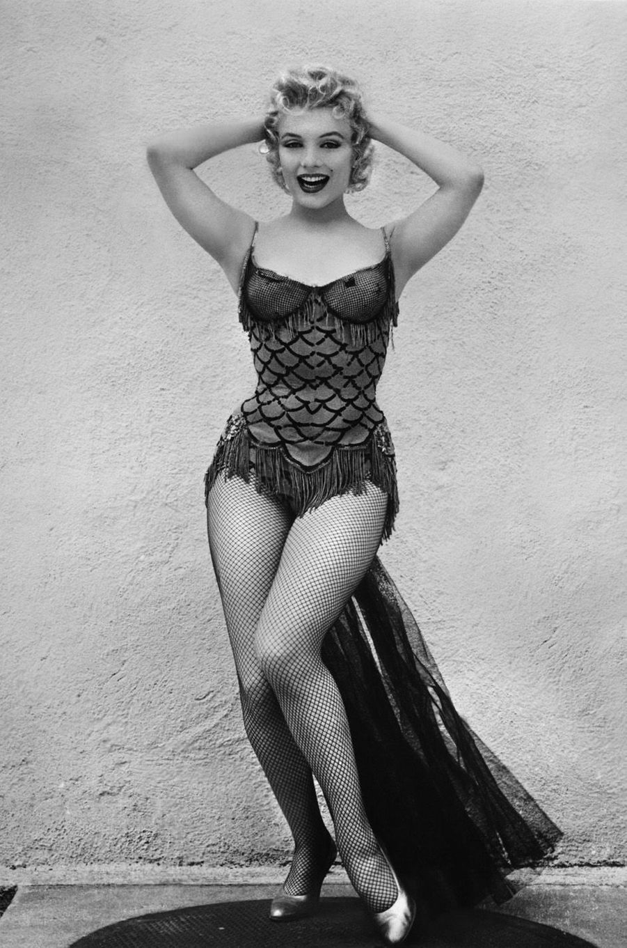 Marilyn Monroe en 1956.