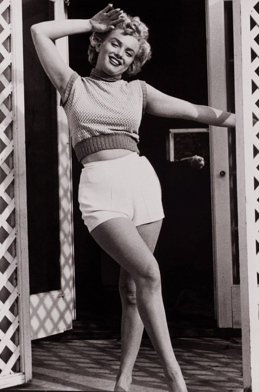 Marilyn Monroe en 1952.