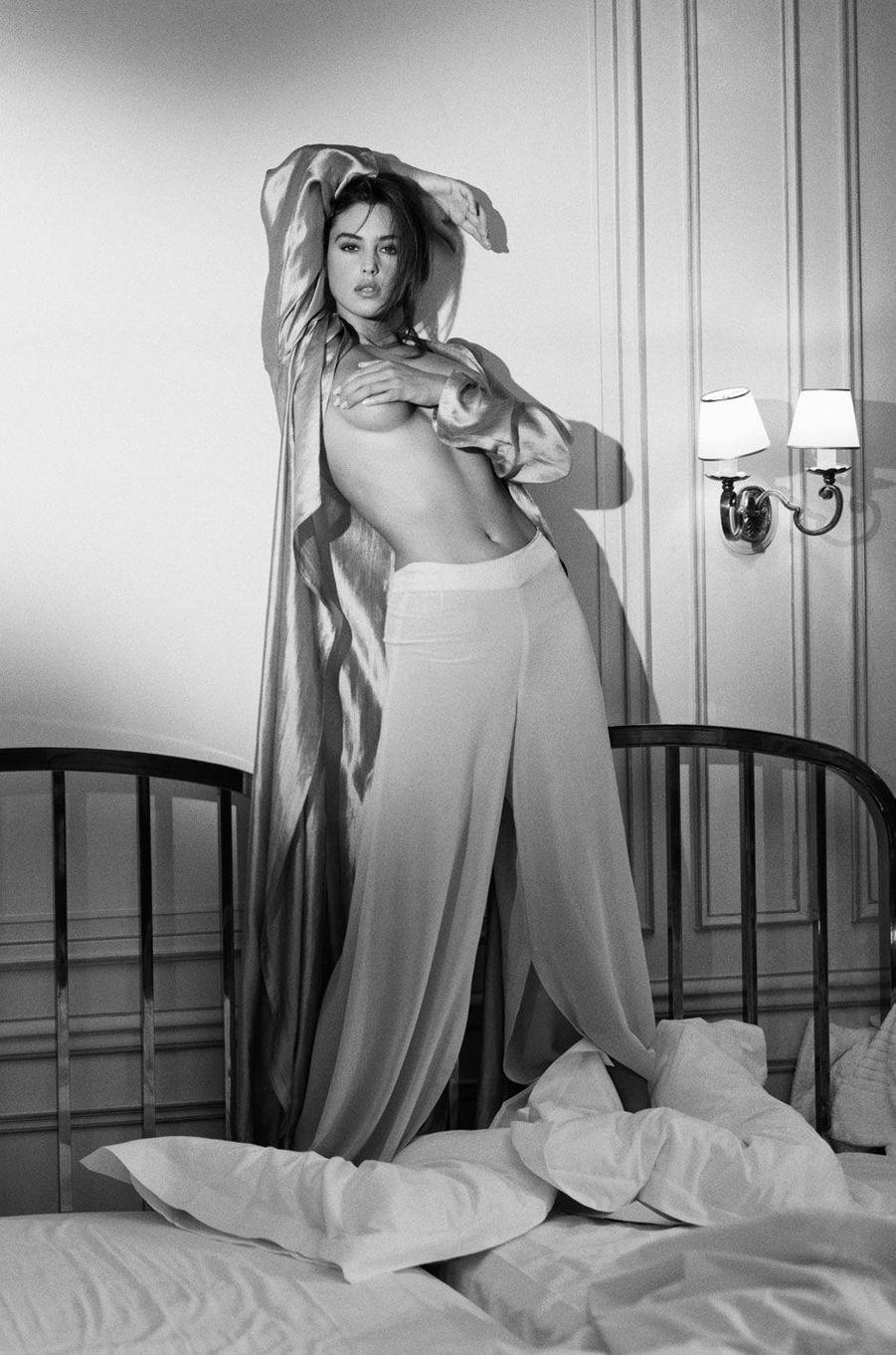 Monica Bellucci est mannequin et actrice