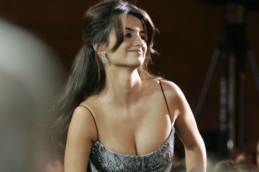 Penélope Cruz en janvier 2007
