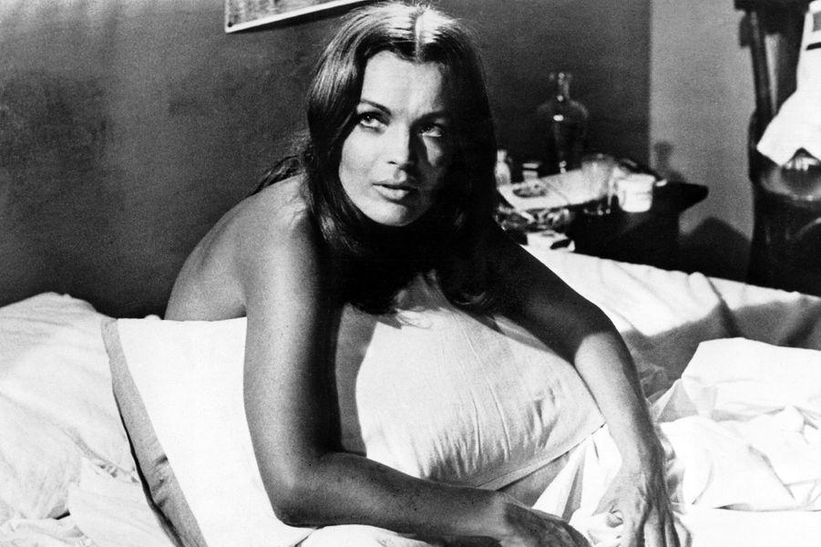 """Romy Schneider dans """"La Califfa"""" deAlberto Bevilacqua (1970)"""