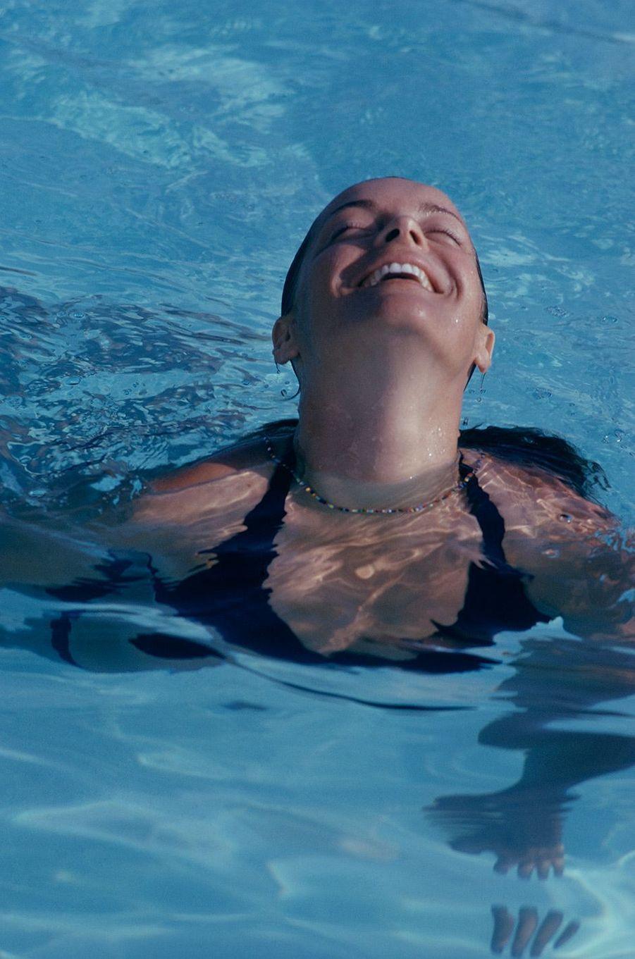 """Romy Schneider dans """"La Piscine"""" de Jacques Deray (1968)"""
