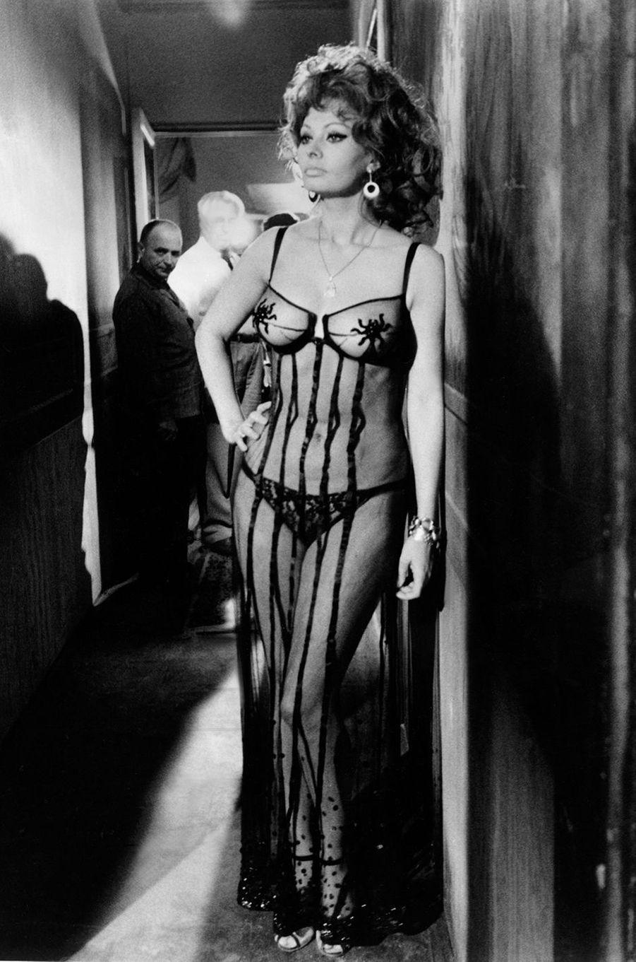 Sophia Loren, la sensualité à l'italienne.