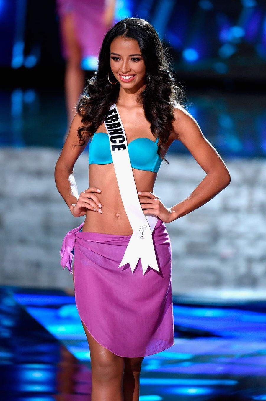 Flora Coquerel a été couronnée Miss France en 2014