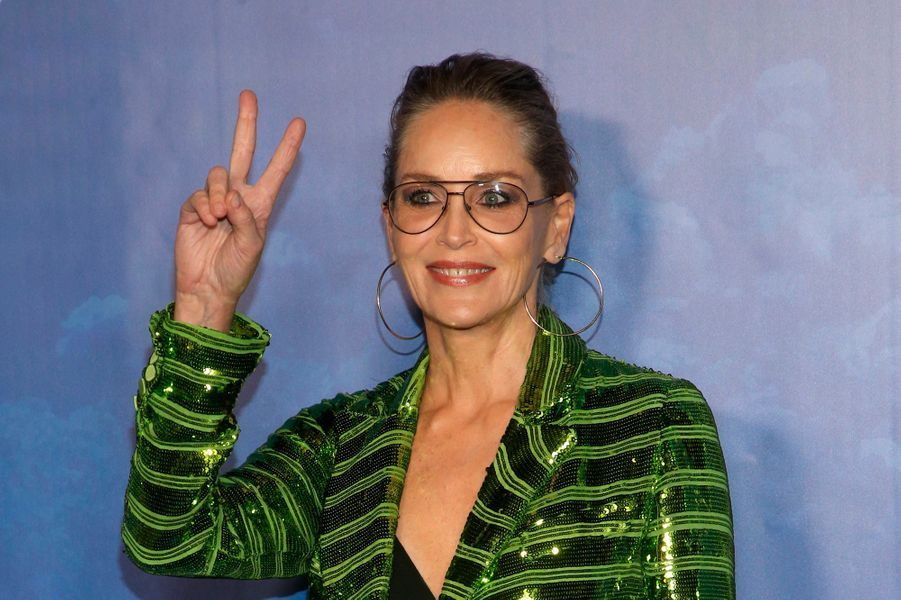 Sharon Stone lors du Global Ocean Gala à Hollywood le 6 février 2020.