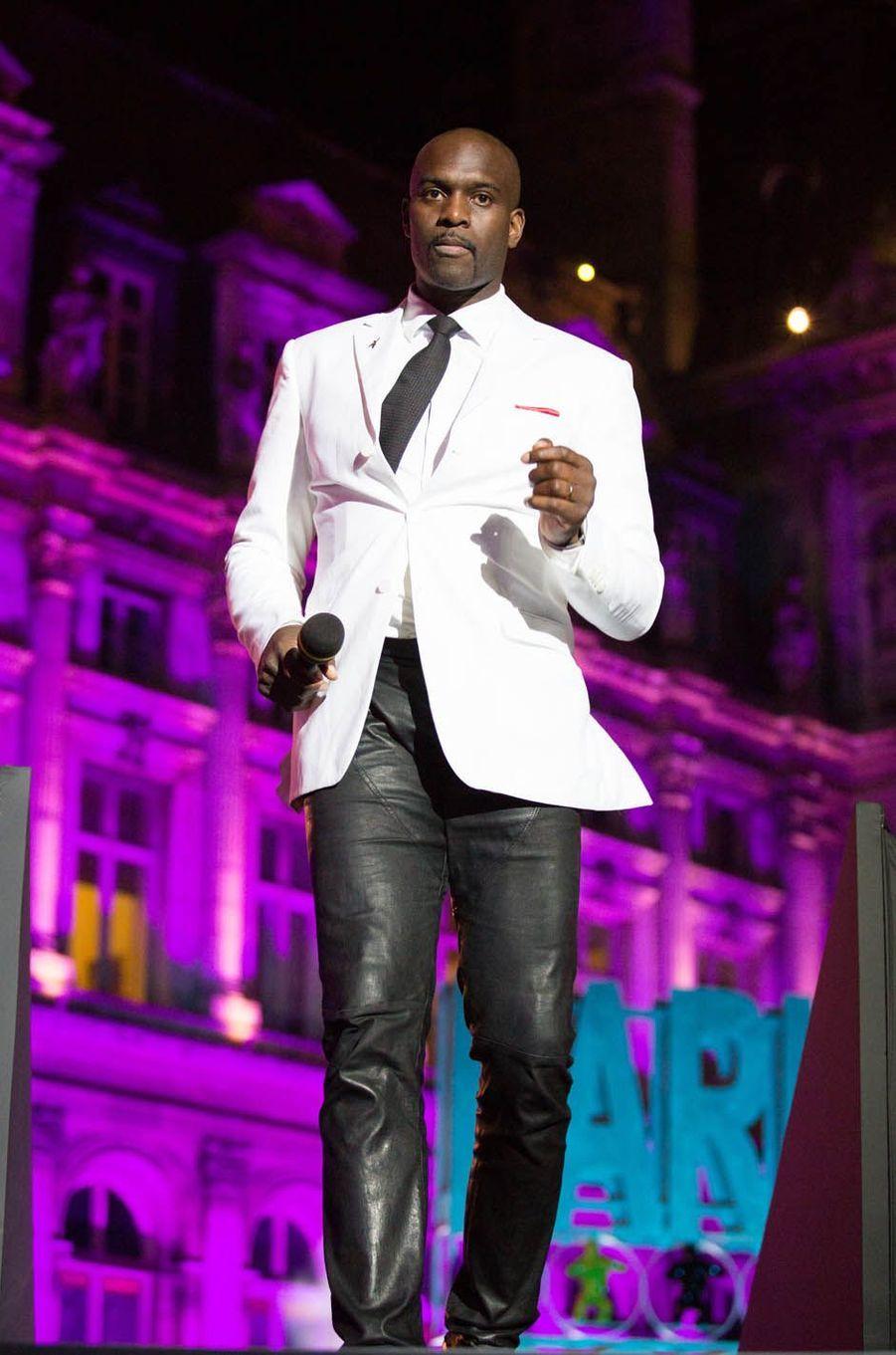 Pascal Gentilà la soirée événement pour les Jeux Olympiques 2024, à Paris le 15 septembre 2017.