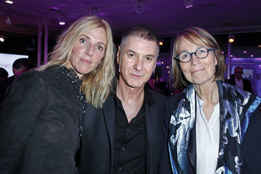 Sandrine Kiberlain,Etienne Daho, Françoise Nyssen.
