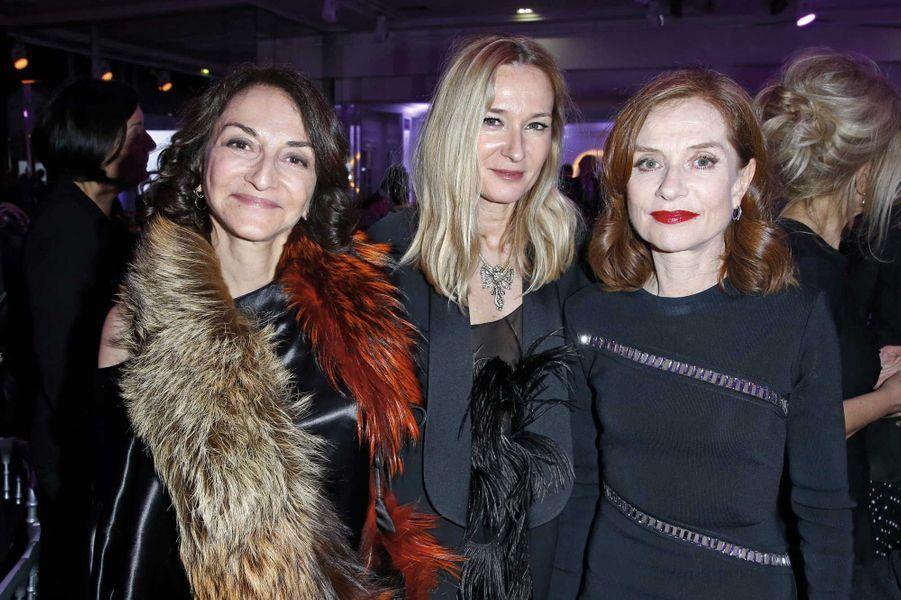 Nathalie Rykiel, Juliede Libran, Isabelle Huppert.