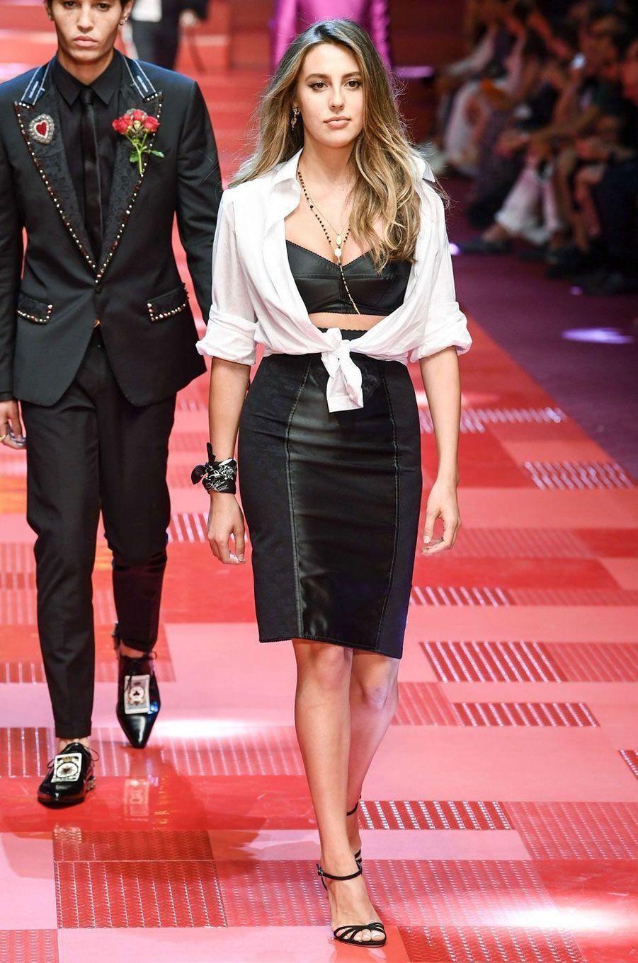 Sophia Stallone.