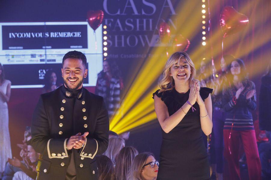 Louane et Slimane, stars de la 9e édition du Casa Fashion Show.