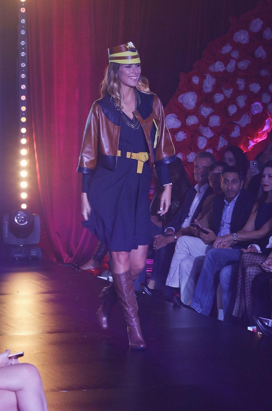 L'ancienne Miss France, Camille Cerf, était venue défiler pour la 9e édition du Casa Fashion Show.