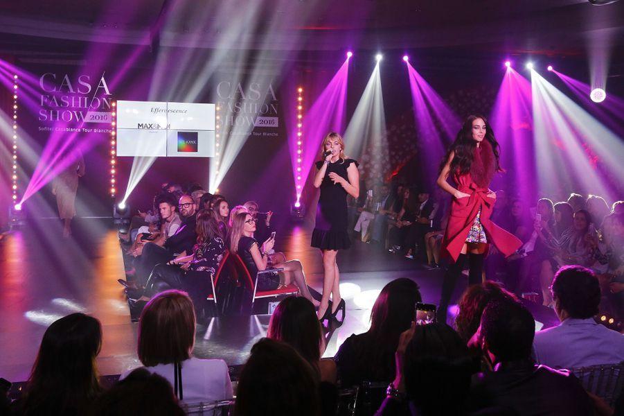 La chanteuse Louane Emera était présente pour assurer le show.