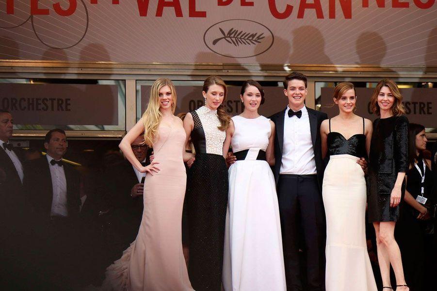 En 2013, Sofia Coppola et son casting lors de la montée des marches de son film «Bling Ring».