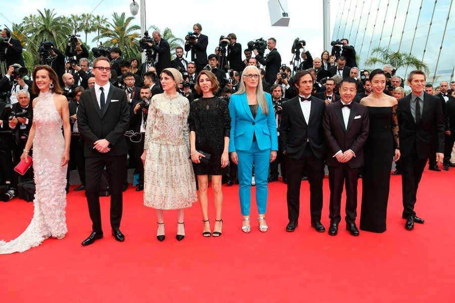 En 2014, Sofia Coppola et les membres du jury de la compétition.