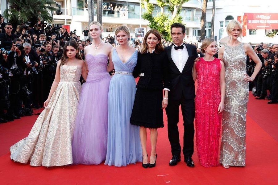 En 2017, pour le 70ème Festival de Cannes, Sofia Coppola monte les marches pour présenter son dernier film «Les Proies».