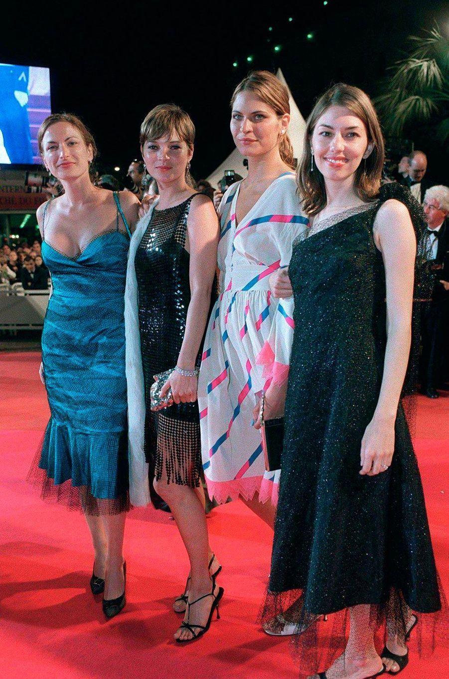 En 2001, Sofia Coppola pour la montée des marches du film de son frère Roman Coppola «CQ».