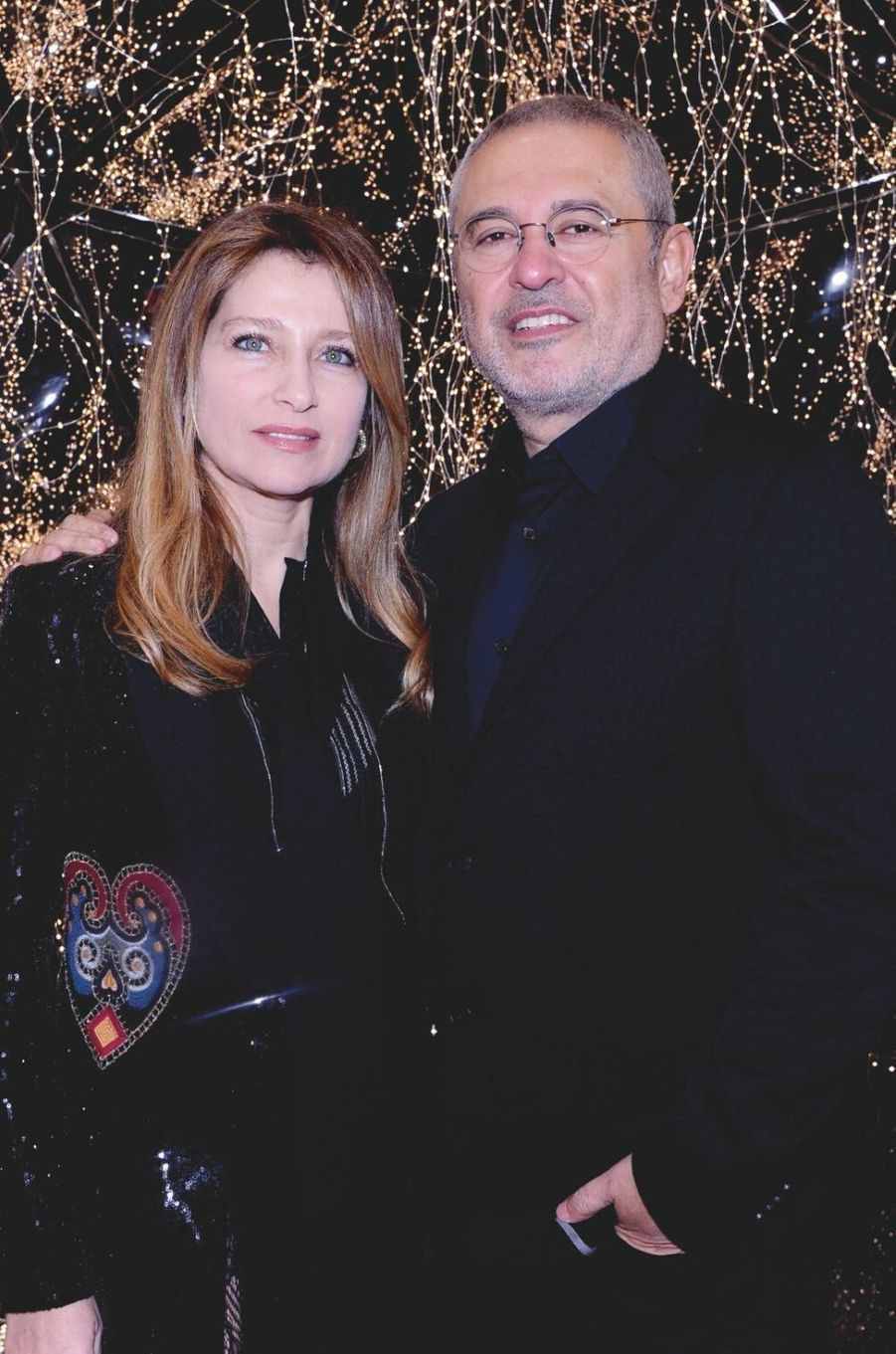 Claudine et Elie Saab.