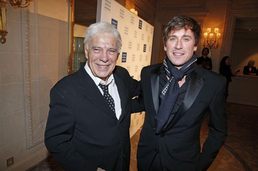 Guy Bedos et Thomas Dutronc.