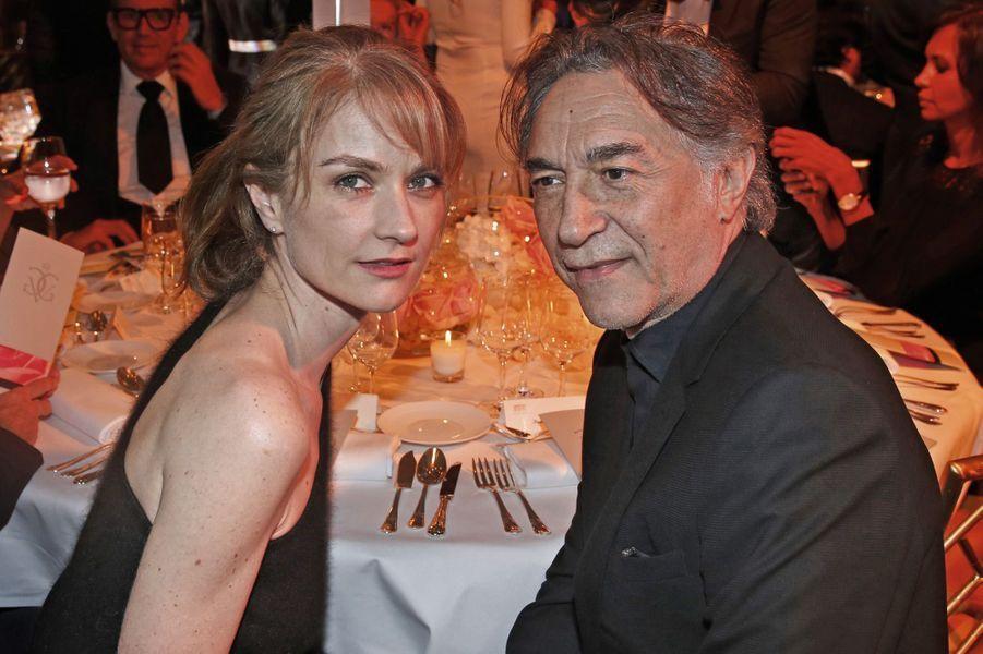 Pascale Louange et Richard Berry.